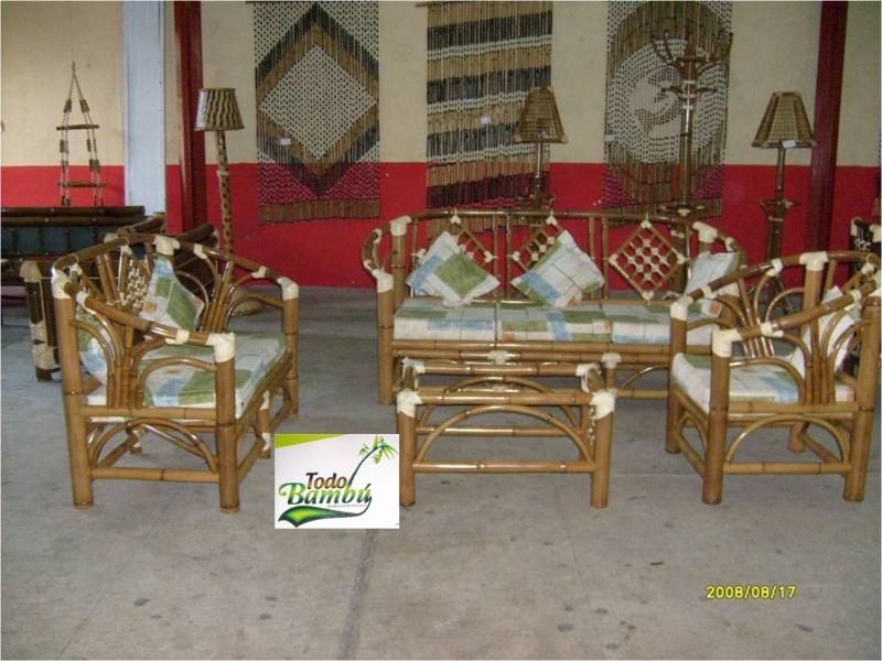 Quienes somos muebles y artesanias de bamb - Muebles en bambu ...