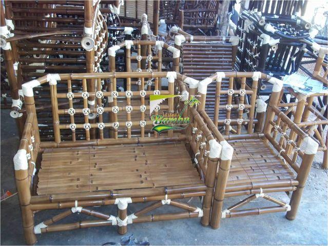 Sala mexico muebles y artesanias de bamb for Muebles de bambu y mimbre